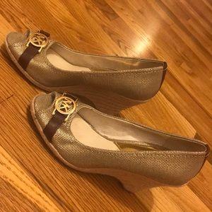 Authentic MK Espadrille Wedge Sandals